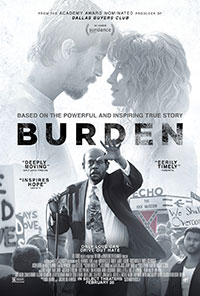 Burden movie poster