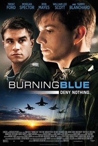 Burning Blue movie poster