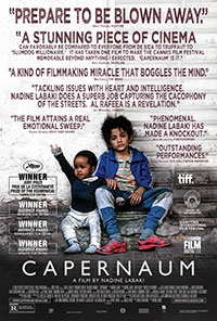 Capernaum movie poster