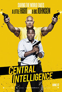 Central Intelligence movie poster