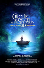 Cirque du Soleil Worlds Away movie poster