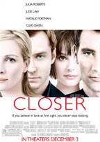 Closer movie poster