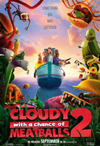 Cloudy with a Chance of Meatballs 2 preview