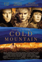 Cold Mountain movie poster