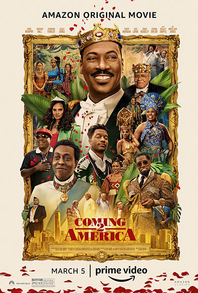 Coming 2 America movie poster