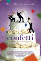 Confetti movie poster