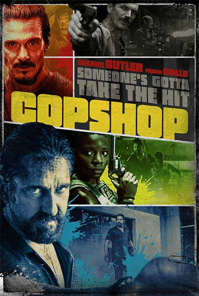 Copshop movie poster