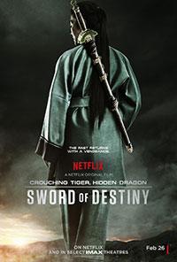 Crouching Tiger Hidden Dragon: Sword of Destiny movie poster
