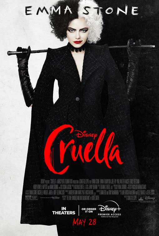 Cruella movie poster