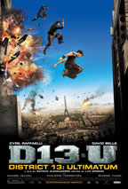 District 13 Ultimatum movie poster