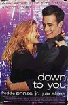 Down to You movie poster