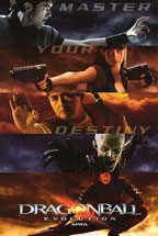 Dragonball Evolution movie poster