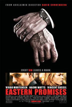 Eastern Promises movie poster