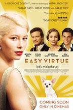 Easy Virtue movie poster