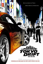 Fast and the Furious: Tokyo Drift movie poster