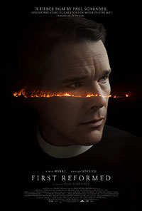 First Reformed movie poster