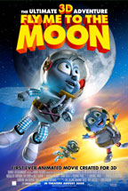 Fly Me to the Moon - 3D movie poster