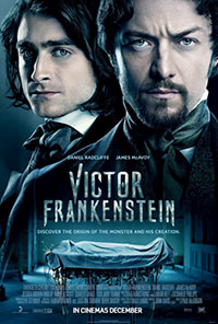 Victor Frankenstein movie poster