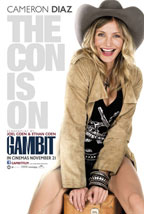 Gambit movie poster