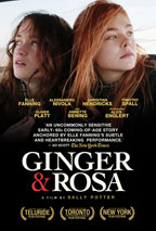 Ginger & Rosa movie poster
