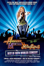 Hannah Montana/Miley Cyrus: Best of Both Worlds Concert Tour movie poster