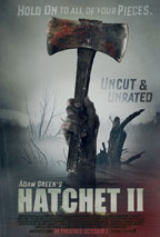 Hatchet II movie poster