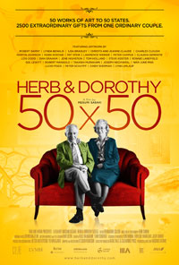 Herb & Dorothy 50X50 movie poster