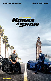 Fast & Furious Presents: Hobbs and Shaw movie poster