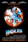 Holes movie poster