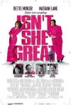 Isn't She Great movie poster