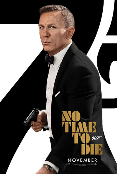 James Bond: No Time to Die movie poster