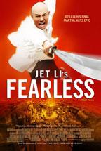 Jet Li's Fearless movie poster