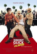 Jiminy Glick in La La Wood movie poster