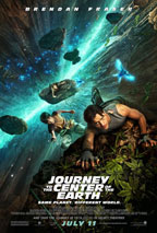 Journey to the Center of the Earth 3D movie poster