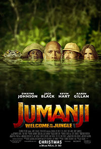 Jumanji: Welcome to the Jungle preview