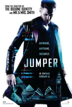 Jumper movie poster