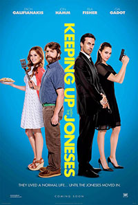 Keeping Up with the Joneses movie poster