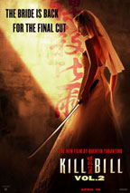 Kill Bill Vol. 2 movie poster