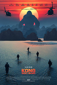 Kong: Skull Island movie poster