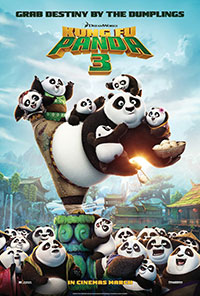 Kung Fu Panda 3 movie poster