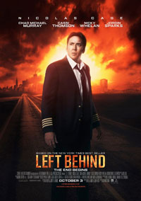 Left Behind movie poster