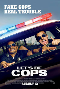 Let's Be Cops movie poster