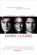 Lions for Lambs movie poster