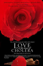 Love in the Time of Cholera movie poster