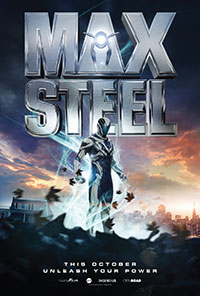 Max Steel movie poster