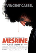 Mesrine: Public Enemy #1 movie poster