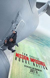 Mission: Impossible Rogue Nation movie poster