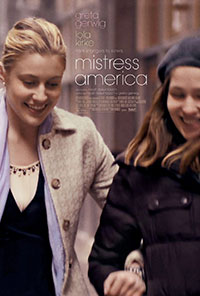 Mistress America movie poster