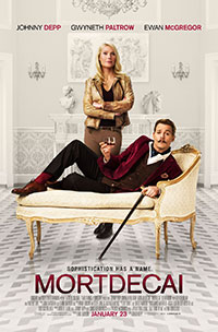Mortdecai movie poster