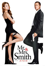 Mr. and Mrs. Smith movie poster